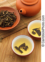 Traditional chinese tea beverage