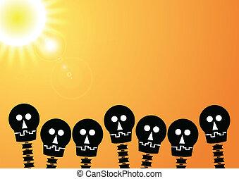 skull crowd