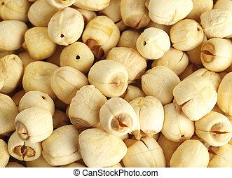 Group of lotus seed