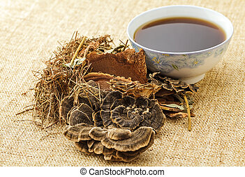 Traditional chinese herbal tea