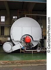 Industrial 35000 lbs steam boiler - Industrial duel fuel...