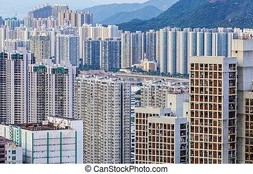 City in Hong Kong