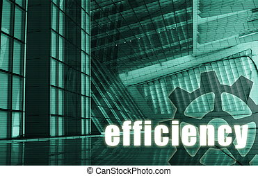 Efficiency Futuristic as a Art Abstract Background