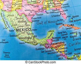 global, estudios, -, México, central, América
