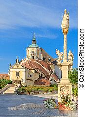 Eisenstadt Mountain Church (Haydn Church on Kalvarienberg),...