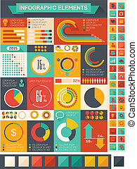 Flat Infographic Elements Vector Illustration EPS 10