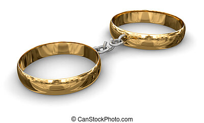 Connected rings (clipping path incl - Connected rings. Image...