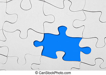 puzzle missing one piece