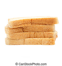 sliced wholewheat bread - loaf of sliced wholewheat bread...