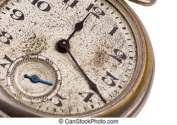 Antique pocket watch face - Antique pocket watch clock face...