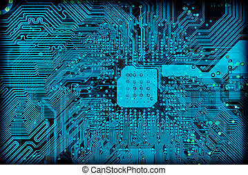 Tech industrial electronic background texture - Tech...