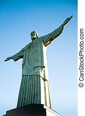 Christ Redeemer in Rio de Janeiro - Christ Redeemer: a view...