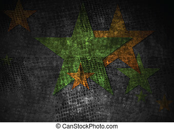 Grunge vector stras design - Grunge abstract background with...
