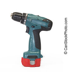 Drill battery - Old scratched dirty through use Cordless...
