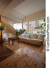 Cloudy home - conservatory - Cloudy home - attic room with...