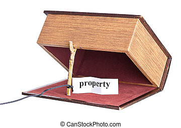 Property trap, catch - box is installed in the form of the...