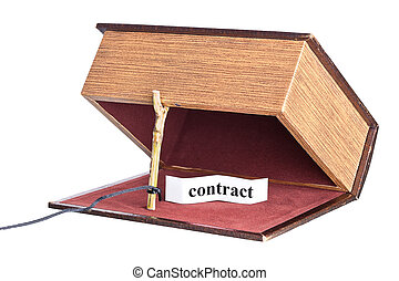 trap, catch - dangerous contract. box is installed in the...