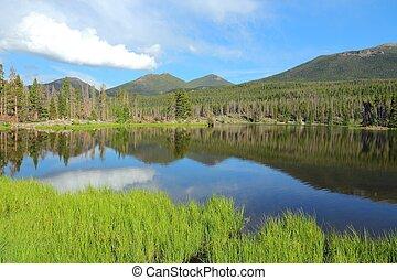 Colorado - Rocky Mountains - Rocky Mountain National Park in...