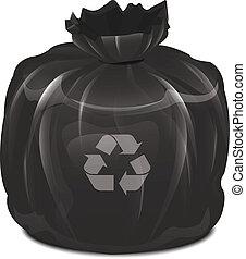 déchets, sac