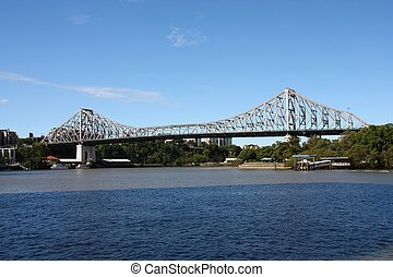 Story Bridge, Brisbane - Cantilever bridge - Story Bridge in...