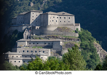 Fort Bard, Aosta Valley, Italy