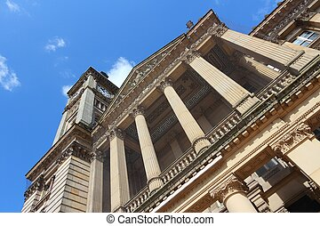 Birmingham, UK - Birmingham - Museum and Art Gallery with...