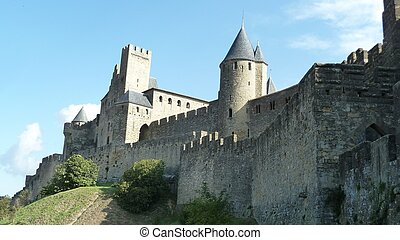 Walled City - Carcasonne, A walled city in France