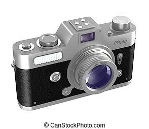 Retro photo camera. My own design.