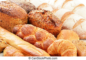 Composition with baking products