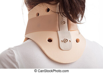 Cervical collar - The correct way to put on cervical collar