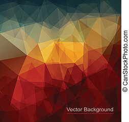 Abstract background triangle texture design - vector...