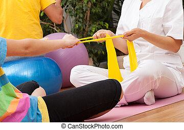 fisioterapia, centro