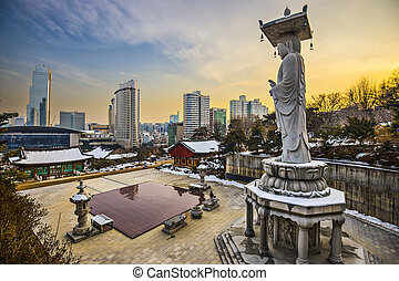 Seoul South Korea - Seoul, South Korea skyline from...