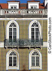 Old building, Lisbon, Portugal