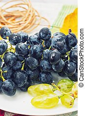 bunch grapes - bunch of fragrant grapes