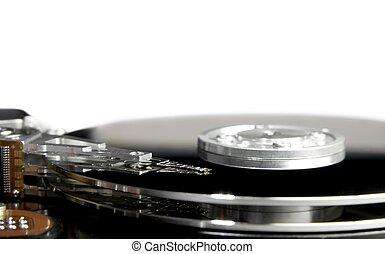 Harddisk - Open hard drive close up