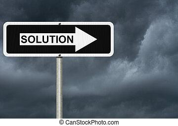 Soluciones, no, yendo, ser, fácil