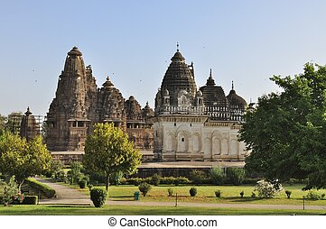 Khajuraho, India - UNESCO site. - Western Temples of...