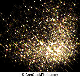 lots of stars - agglomeration with lots of shiny stars in...