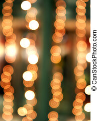 Blurred abstract christmas lights - Brurred abstract...
