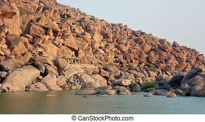 Majestic boulder rocks - Landscape of majestic boulder rocks...