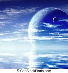 paysage, Fantasme, Planète