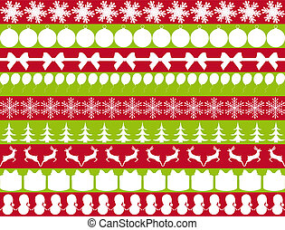 elements for Christmas design