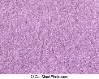 Seamless lilac felt background. Natural fabric close-up.