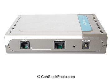 adsl modem object for internet connection