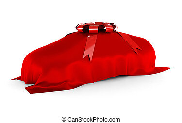 Dream Car Surprise - The dream car is covered and waiting to...