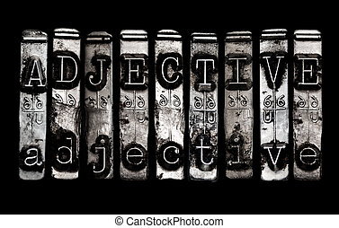 Adjective concept