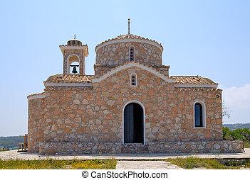 Old orthodox church - Church in Protaras, Cyprus