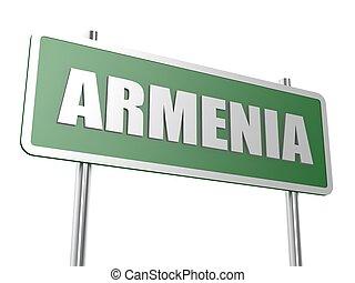 Armenia - Hi-res original rendered computer generated...