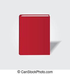 Book symbol. Vector icon for your design